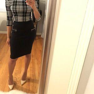 Dresses & Skirts - High Waist Zipper Pencil Skirt
